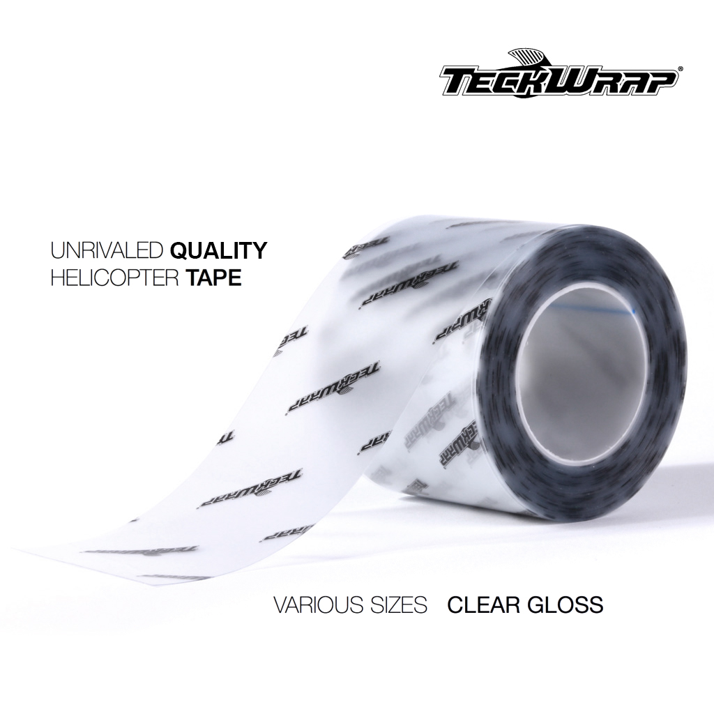 Teckwrap Helicopter Tape //// Bike Protection Film Clear  //// All Sizes 1M 2M 3M